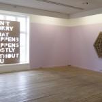 Installasjonsbilde (Don't Worry og No, No, No)