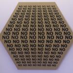 No, No, No, silketrykk på kartong, (2011:2015)