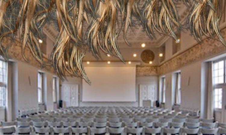 Collage av Lise Nelleman av festsalen