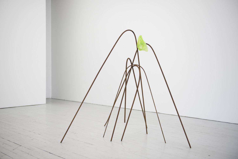 Verk av Runhild Hundeide fra utstillingen Inertia ved Podium, Oslo